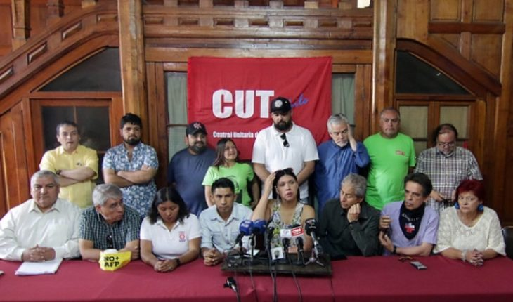 """Social Unity rejects the Government's """"repressive agenda"""" and calls for curbing its processing"""