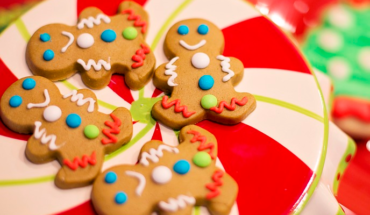 The holiday season arrives and also the delicious gingerbread biscuits (recipe)