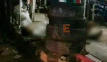 The worker of a vulcanizer in Lazaro Cardenas was killed with a machete