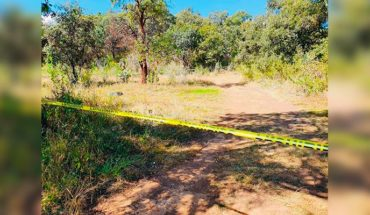 They find a corpse 'bagged' and with signs of violence near the village of Orange of Tapia, Zacapu