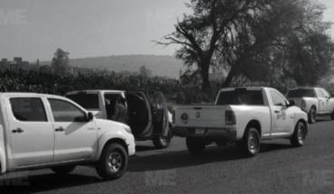 They locate two bodies shot near Paquicho, Uruapan
