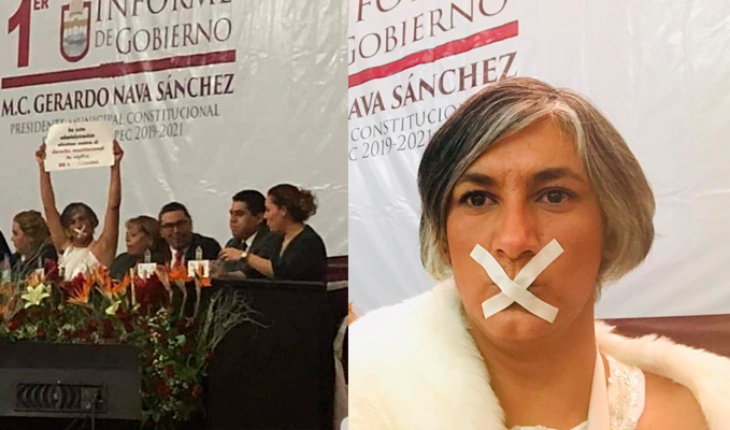 Today yes, I'm not going to talk, because I was forbidden to do it: Zinacantepec Regidora, Edomex