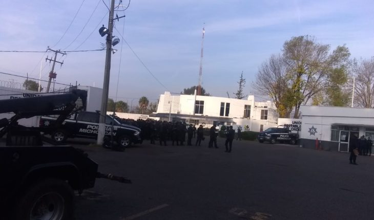 "UROP police manifest theway by ""Banbajío"", Patrón responds"