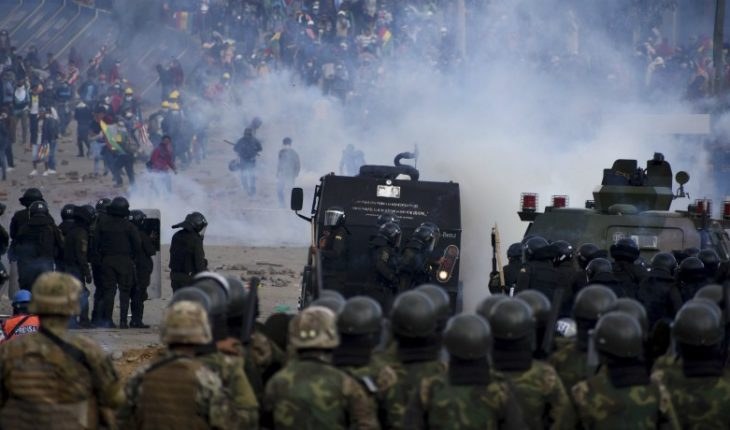 "Uruguay warns of ""coup d'état"" in Bolivia and calls for a cessation of repression"