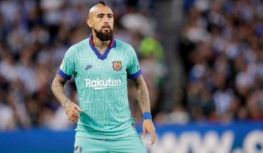 Vidal said present in the final minutes of the tie between Barcelona and Real Sociedad