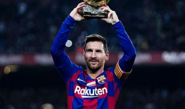 """With his hat-trick against Mallorca Messi he becomes the biggest scorer in the history of """"LaLiga"""""""