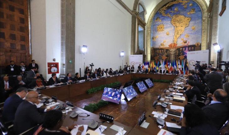 Reunión ministros y vice ministros de Exteriores CELAC 2020 en Ciudad de México (9/1/2020). Foto: CELAC 2020 México / Secretaría de Relaciones Exteriores, Gobierno de México. Blog Elcano