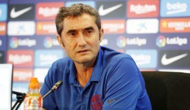 Barcelona despide a Ernesto Valverde y contrata a Quique Setién
