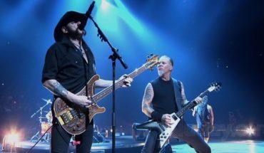 Metallica rinde homenaje a Lemmy Kilmister, ícono de Motörhead
