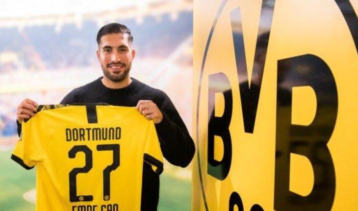 OFICIAL: Emre can deja la Juventus y ficha con el Borussia Dortmund