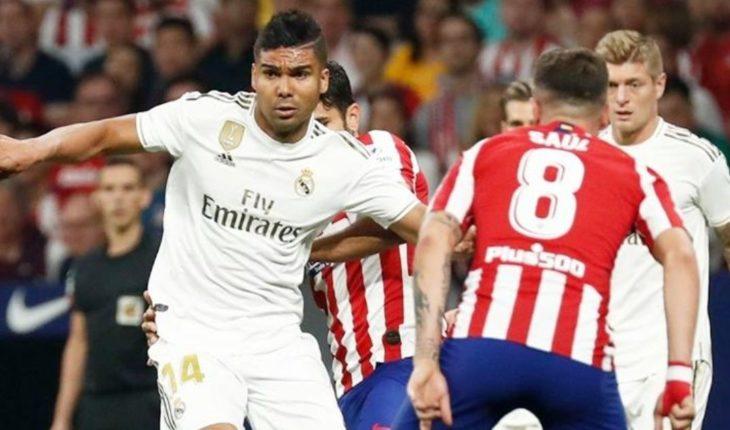 Real Madrid Vs Atletico De Madrid Horario Y Donde Ver En Vivo