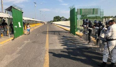 After 7 hours closed open border with Guatemala