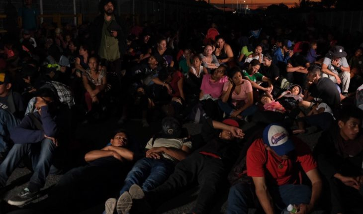 Authorities detain 2,000 Central American migrants in Tabasco and Chiapas