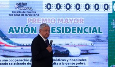 CDMX to waive tax on whoever wins plane raffte