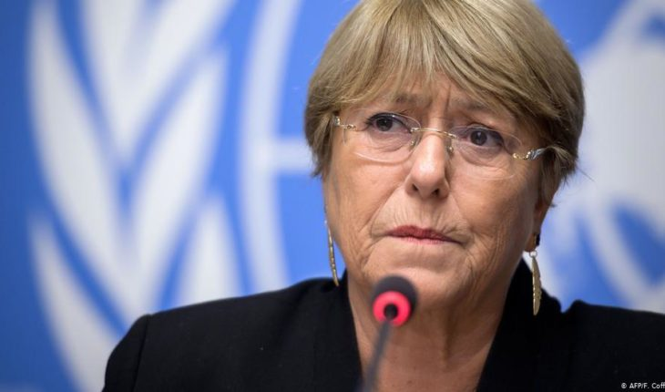 """Chile Vamos accused Bachelet of meddling in Chile's """"internal policy"""""""