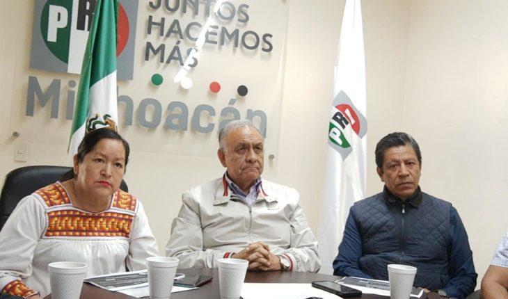 Critica PRI Michoacán, lack of transparency and deficiencies of Insabi