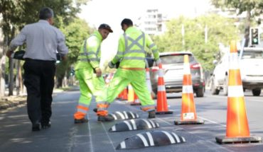 Government announced the start of works for cyclopista in Eliodoro Yáñez
