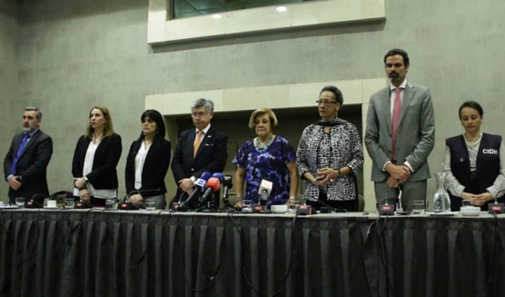 """IACHR after completing a visit in the country: """"Chile is experiencing a serious DD crisis. HH."""""""
