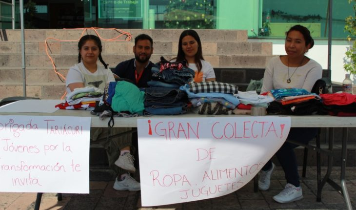IJUM Joins to collect for vulnerable communities in Morelia