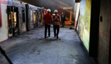 Metro Attacks: Prosecutor's office reports that two arrested for damage and fire at San Pablo station