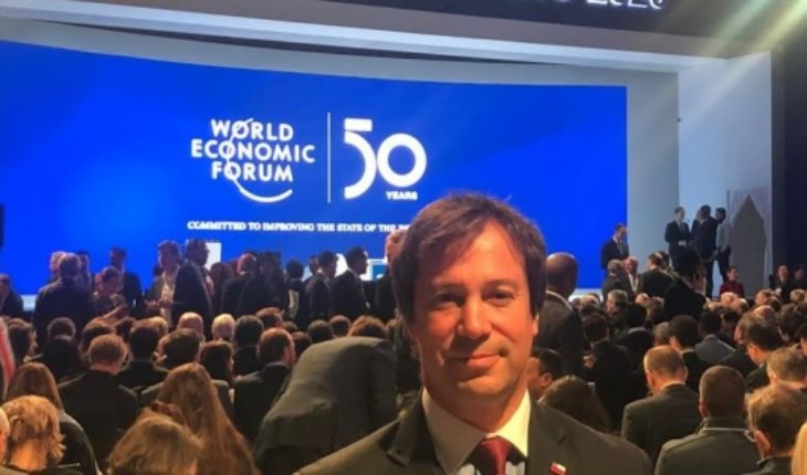 """Minister Palacios from Switzerland: """"Here no one can believe that Chile is not taking advantage of international economic conditions to grow"""""""
