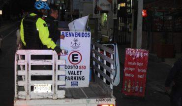 Mobility Secretariat removes road blocks on Boulevard García de León and Avenida Enrique Ramírez
