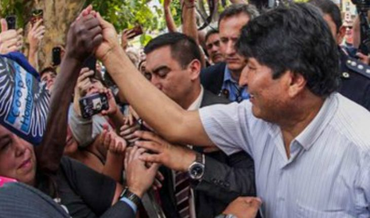 "Morales opens up to the possibility of organizing ""armed people's militias"" in case of returning to Bolivia"