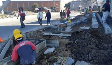 Morelia City Council conducted a tour of supervision in works of the Estate of Trenches of Morelos