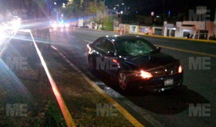 Older woman was run over on Avenida Acueducto de Morelia; Doesn't survive