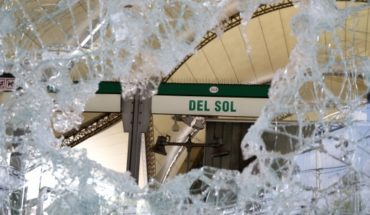 POI detains two suspects in damage to El Sol Metro station during social outburst