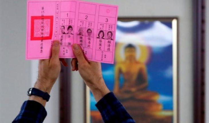 President Tsai holds Taiwan presidential election