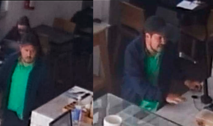 Subject leaves without paying the bill, pretending to be a congressional worker