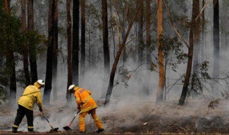 Teenue rain gives brief respite from fires in Australia