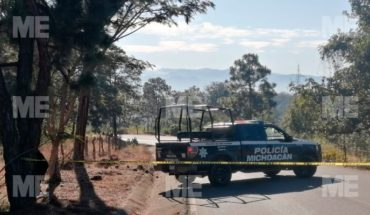 They find a body shot and manhandled in Uruapan