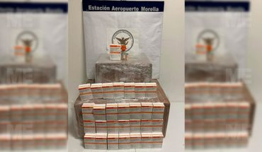 They secure 'marijuana' and medicine at Morelia International Airport