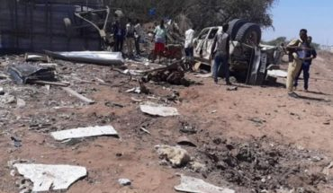 Three killed and 20 injured in terrorist attack in Somalia