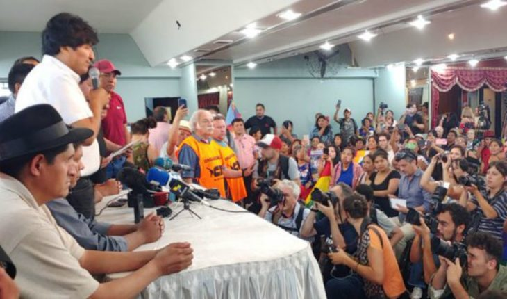 [VIDEO] Evo bets on former Economy Minister Luis Arce as presidential candidate