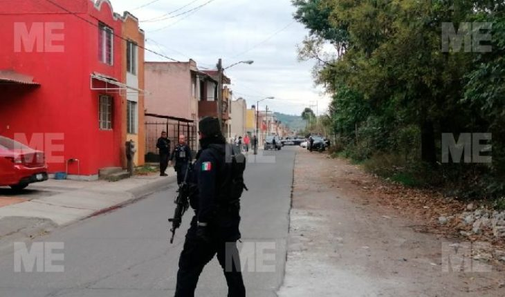 Woman gets hurt by a bullet snobper in a shooting in Uruapan