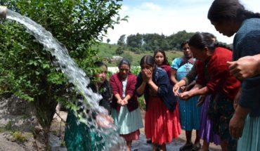 El acceso a agua es una prioridad en la cooperación al desarrollo