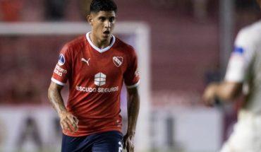 Alan Franco define su salida de Independiente y se entrenó diferenciado