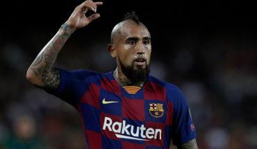 Arturo Vidal vio breve acción en victoria del FC Barcelona sobre Getafe
