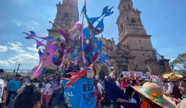 Avenida Madero se llenó de color y algarabía con el Festival del Torito 2020 Morelia