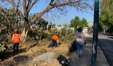 Ayuntamiento de Morelia realiza labores de aseo en zonas de riesgo de inundación