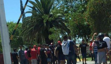 Clima tenso en Independiente: increparon al plantel en el entrenamiento