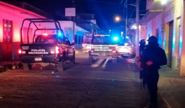 Detienen a uno tras persecución y balacera en Uruapan