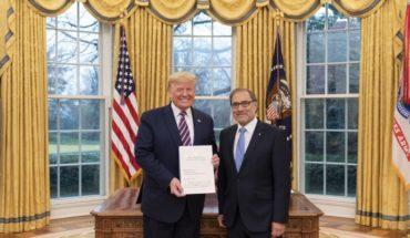 Donald Trump recibió al embajador argentino en Estados Unidos