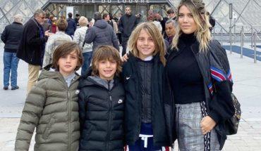 """El saludo de cumpleaños de los hijos de Maxi López a Icardi, llamándolo """"Papá"""""""