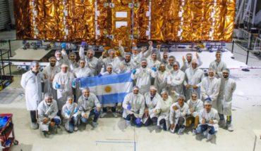 El satélite argentino SAOCOM 1B comienza su viaje al espacio