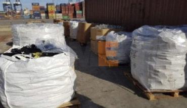 En Lázaro Cárdenas, Michoacán, aseguran 40 toneladas de residuos peligrosos