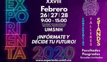 Este miércoles inicia Exporienta 2020 en la UMSNH